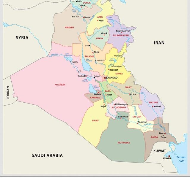 Iraq – Caught in the Middle